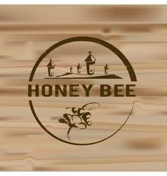 Honey logo vector image vector image