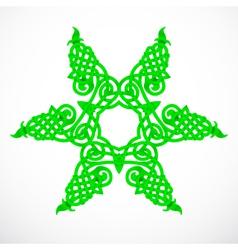 green native ornament vector image