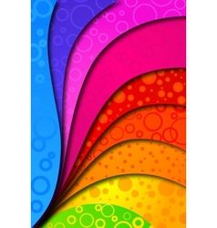 Abstract colorfull background for design vector