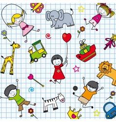 background children vector image