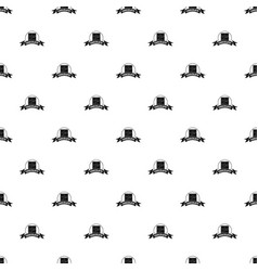 chocolate pattern seamless vector image