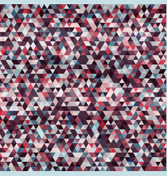 crimson triangle seamless pattern vector image