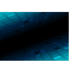 dark blue squares abstract technology background vector image