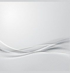 modern abstract hi-tech swoosh background vector image