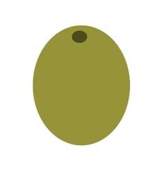 olive grain isolated icon design vector image