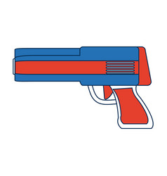 Powerful gun caliber forces automatic icon vector