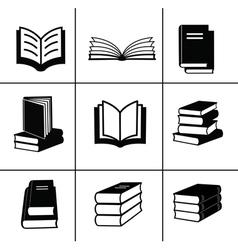 Book design elements vector image