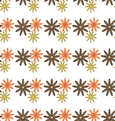 flowers-pattern-retro-seamless-05 vector image vector image