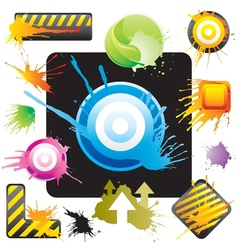 Splash Sign vector image