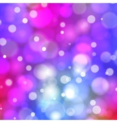 Abstract bokeh background Brignt blurred lights vector image