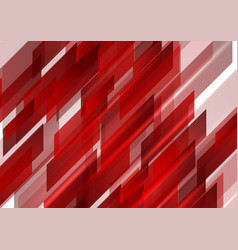 abstract bright shiny red tech background vector image