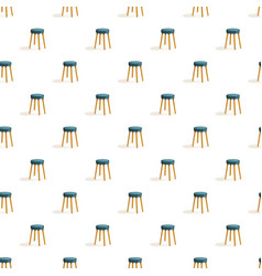 Kitchen chair pattern seamless vector