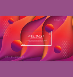 liquid modern background with abstract style vector image