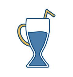 Milkshake icon image vector