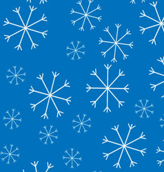 Snow pattern background vector
