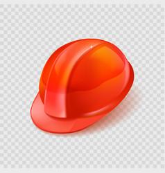 stock realistic orange vector image
