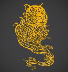Tiger Spirit Light vector image vector image