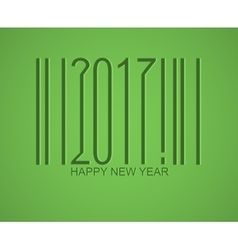 Happy new 2017 year holiday vector