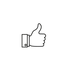 A good like newswork agree confirm icon vector