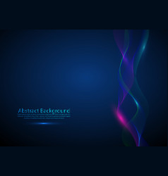 abstract background with dynamic colorful vector image