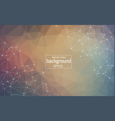 abstract background with triangular cells for vector image