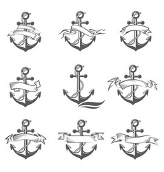 Anchor symbol set vector