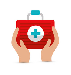 Blood donation tools icon vector