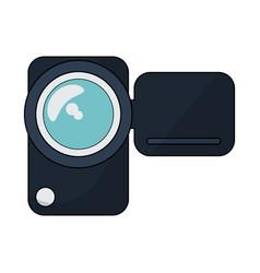 digital videocamera technology vector image