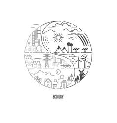ecologysymbol vector image
