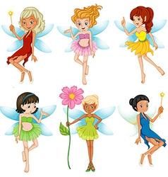 Fairies set vector