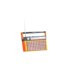 Old-school Design Radio vector