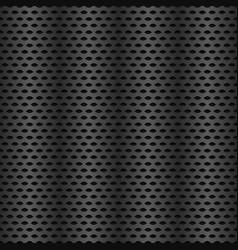 Repeatable metal carbon texture vector