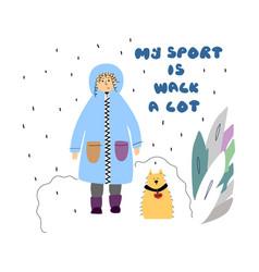 Sport-walk vector
