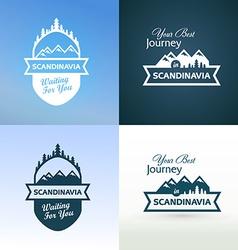 Tour to Scandinavia vector