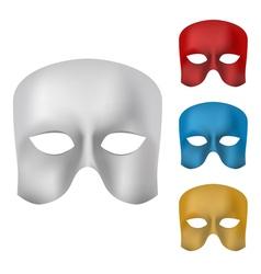 Mask set vector image vector image