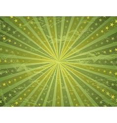grunge green antique background vector image