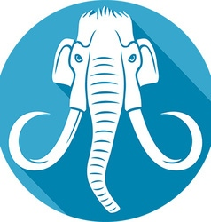 Mammoth Icon vector image vector image