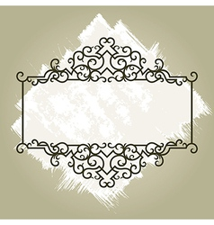 8floral line 08 1 vector image vector image