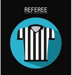 referee icon vector image