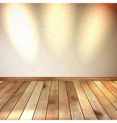 Vintage wooden room floor EPS 10 vector image vector image