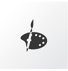 color palette icon symbol premium quality vector image