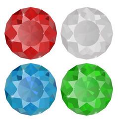 Diamond sapphire ruemera vector