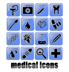 medical icons2 vector image