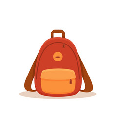 street backpack colorful cartoon vector image