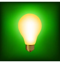 ight bulb vector image