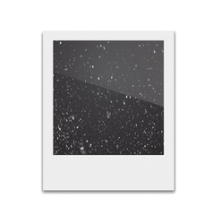 Retro Photo Frame Polaroid On White Background vector image