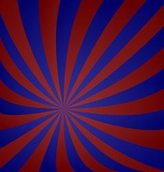 Red blue vortex design vector