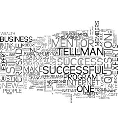 what will you accomplish when wealth gurus mentor vector image