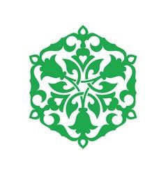 Arabesque decor illistration vector
