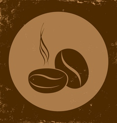 coffee vintage vector image